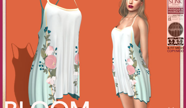 Bloom: Mesh Tunic Slip Dress