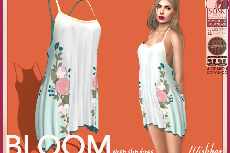 Mesh Tank Dress Second Life Wishbox