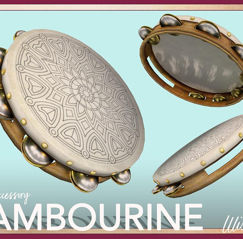 Mesh Tambourine Accessory