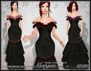 Wishbox - Fantasy Clothing in Second Life and VR Worlds