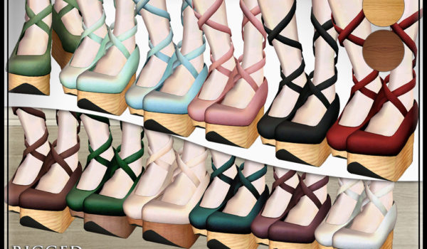 Rocking Horse Shoes: Mesh EGL Clogs for Second Life